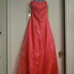 Alfred Angelo grad dress.  Size 4.  Only $75.